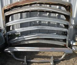 X Thunderbird Front New Triple Chrome Plated Bumper 58-60 1958-1960 Ford Oem