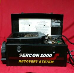 Technical Chemical Co. Sercon 1000 Freon Refrigerant Recovery System        ZZ