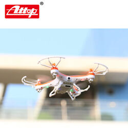 Top Flyer Cyclone Remote Control Drone Rc Quadcopter 2.4ghz 4ch W Gyro + Camera