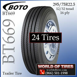 16ply semi trailer tires 22.5 tires $229 Each Lot of 24 - Call For Shipping Rate