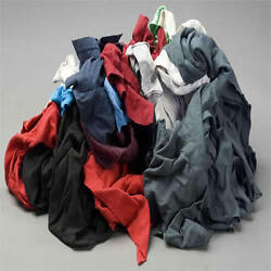 Color Knit T-shirt Wiping Rags Cleaning Cloth 50 Lb Box - Best Quality And Price