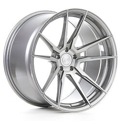 22andrdquo Rohana Rf2 Brushed Titanium Wheels For Bentley Continental Gt Flying Spur
