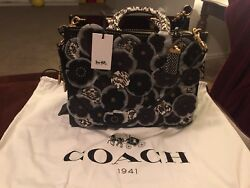 Coach Purse Rouge Exotic