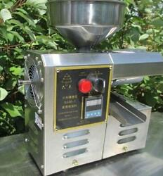 Newest Edible Oil Press Machine High Oil Extraction Rate Labor Saving A