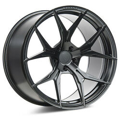 20andrdquo Rohana Rfx5 Gloss Black Concave Forged Wheels For Porsche 997 Turbo And C4s