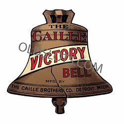 Case Decals For Caille Center Pull Antique Slot Machine Mills Watling