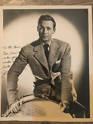 Jess Barker Authentic Signed Autograph Columbia Pictures Photo By Coburn