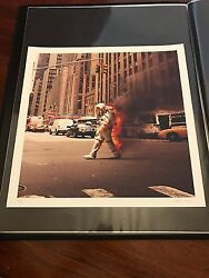 Jack Crossing Art Poster Print 6th Avenue Mondo Obey Giant Fairey Stout Horkey