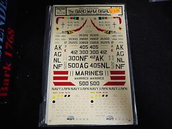 Micro Scale Decal - Navy Skyraiders Decals