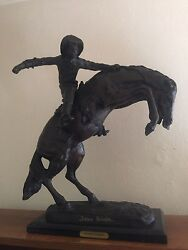 Wooly Chaps Bronze By Frederic Remington