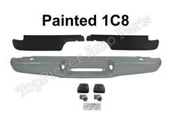 Painted 1C8 Rear Bumper Face Bar Top Pad Lic Light For 1995-2004 Tacoma