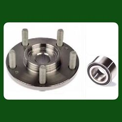 1 Front Wheel Hub And Bearing For Honda Crv 2012-2015 Fwd Only Left Or Right New