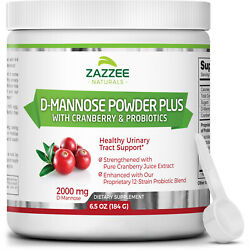 D-mannose Powder Free Scoop Uti Relief Probiotics Urinary Tract Natural Usa