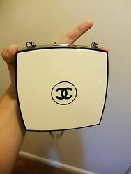 Chanel limited edition runway Compact Powder minaudière.