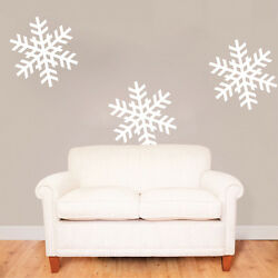 Removable Snowflakes Decals Christmas Window Stickers Christmas Decorations, H66