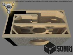 Stage 3 - Ported Subwoofer Mdf Enclosure For Jl Audio 10w7ae Sub Box