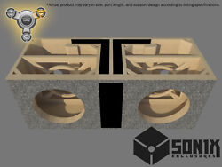 Stage 3 - Dual Ported Subwoofer Mdf Enclosure For Jl Audio 12w7ae Sub Box
