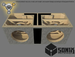 Stage 3 - Dual Ported Subwoofer Mdf Enclosure For Jl Audio 13w7ae Sub Box