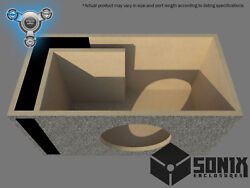 Stage 1 - Ported Subwoofer Mdf Enclosure For Jl Audio 10w7ae Sub Box