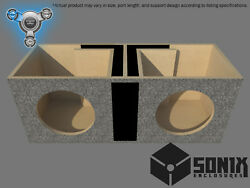 Stage 1 - Dual Ported Subwoofer Mdf Enclosure For Jl Audio 10w7ae Sub Box