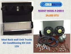 AC KIT UNIVERSAL UNDER DASH EVAPORATOR R-2400-0 25.000 BTU BackWall  12V