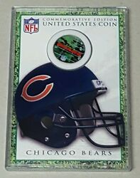 Commemorative Edition United States Coin Chicago Bears Merrick Mint 2003