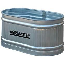 Behlen Country Galvanized Round Water Tank Feed Trough Horse Cattle 88 Gallon
