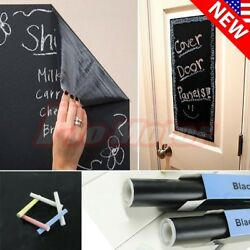 200 X 45cm Chalk Board Blackboard Removable Vinyl Wall Sticker Decal Chalkboard