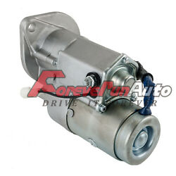 New Starter For Chevy Luv S10 S-15 Pup Pickup Truck Trooper 2.2l Diesel