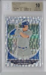 Bgs 10 Pristine Aaron Judge 2013 Bowman Draft Picks Silver Ice Rookie Card Rc