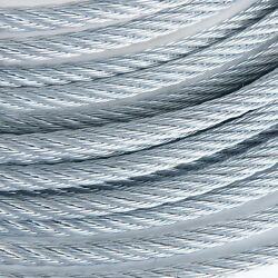 3/4 Galvanized Wire Rope Steel Cable Iwrc 6x19 600 Feet