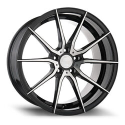 19 Avant Garde M652 Machine Black Wheels For Audi C7 A6