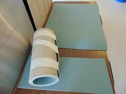 New Entire Skee Ball Cork Carpet Set For The 13 Foot Games. Original Green Color