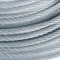 7/8 Galvanized Wire Rope Steel Cable Iwrc 6x25 450 Feet