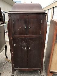 Antique 1900and039s Victor Victrola Talking Phonograph