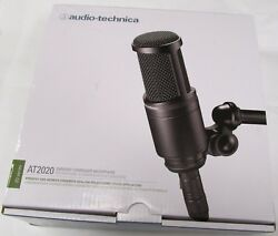 Audio-Technica AT2020 Cardioid Condenser Microphone NEW IN BOX !