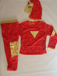 COSPLAY IRONMAN CLASSIC Kids Costumes Sizes 2 10 BRAND NEW Dressup Parties etc