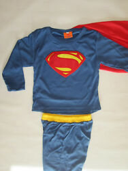 COSPLAY Superman Kids Costumes Sizes 2 10 BRAND NEW Dressup Parties etc