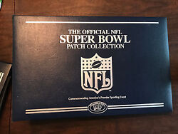 The Official Nfl Super Bowl Patch Collection I-42