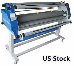 Full-auto Low Temp Wide Format Cold Laminating Machine Roll Seal Laminator 110v