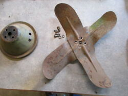 1958 Ford Car 352 Fan Pulley And Bolts / Rat Rod