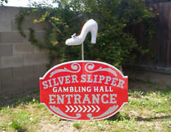 Silver Slipper Gambling Hall Casino sign must see!!!!!!!