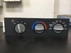 CHEVY  GMC VAN OEM Heater AC Control Unit Temperature Climate Switch
