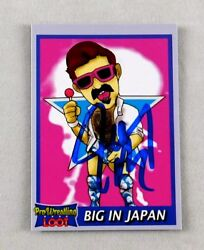 Joey Ryan Signed Signed Trading Card Autograph Pro Wrestling Loot Wrestler Wwe