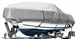 Budge 600 Denier Boat Cover Fits V-hull Runabout Boats 17and039 To 19and039