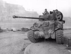 M4 Sherman Battle Tank Glossy Poster Picture Photo Banner Firefly British 3108