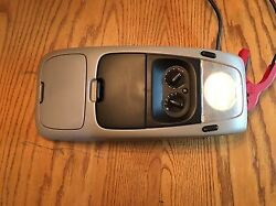 02 03 04 05 EXPLORER OVERHEAD CONSOLE MAP LIGHT STORAGE COMPARTMENT GRAY OEM
