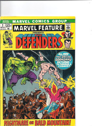 Marvel Feature No. 2, Second Defenders, Marvel, 1971, Fine/vf.