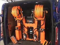 350ltr 1 Man D/I Water Fed Pole Window Cleaning System - Brand New X-Tank