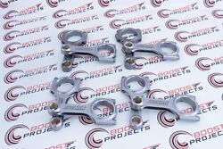 Manley Pro Series I Beam Rods Stock Length Pin Bore .9911 For Big Block Chevy